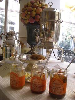 San Matteo Jams in the breakfast room