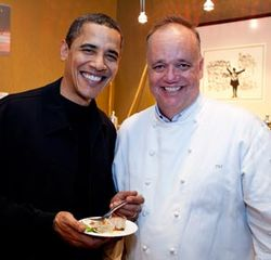 Obama & Tony Mantuano